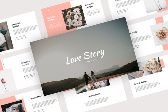 Love Story - Wedding Powerpoint Template