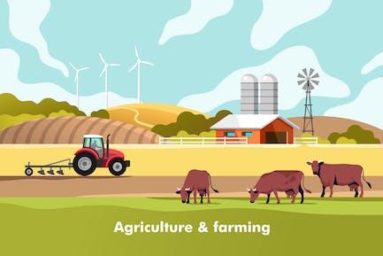 Agricultura y agricultura