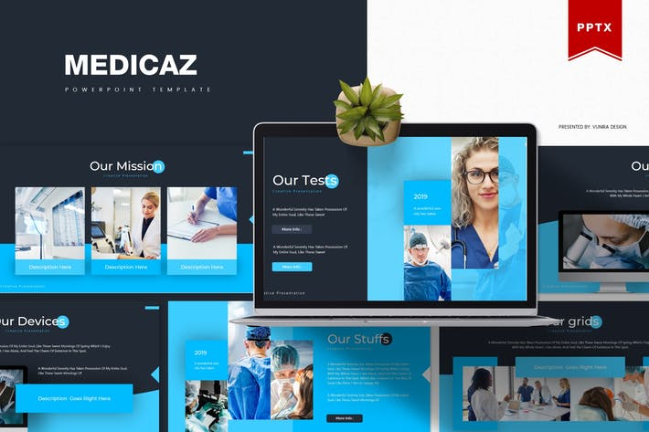 Thumbnail for Medicaz | Powerpoint Template