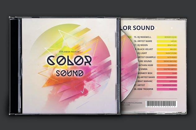 Color Sound CD Cover Artwork
