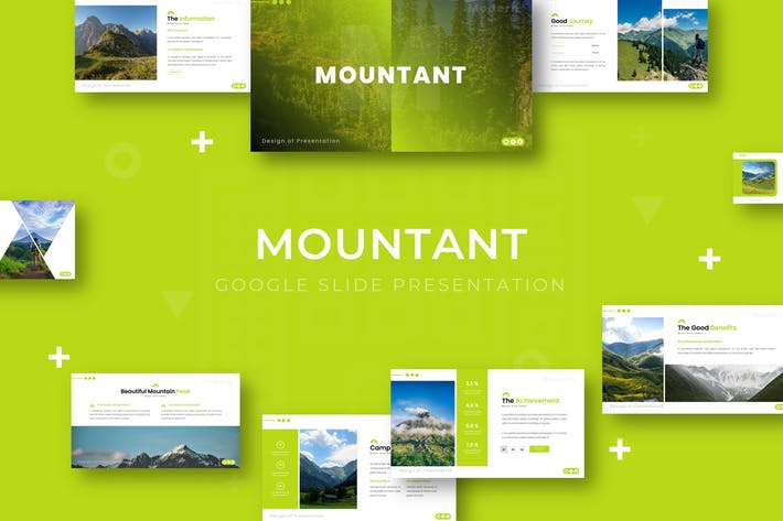 Thumbnail for Mountant - Google Slide Template