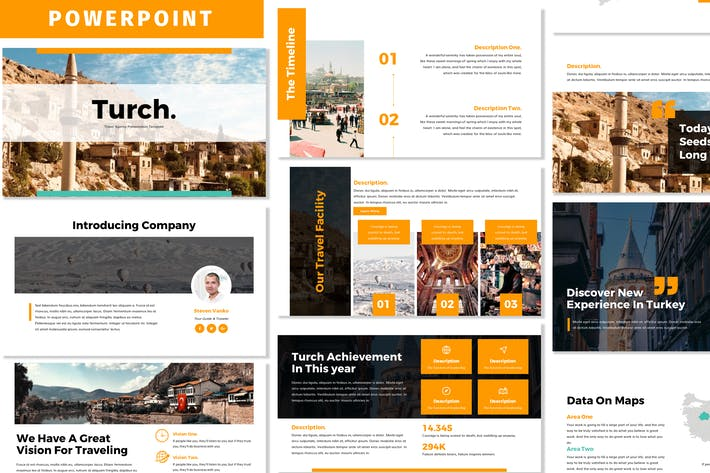 Thumbnail for Turch - Business Powerpoint Template