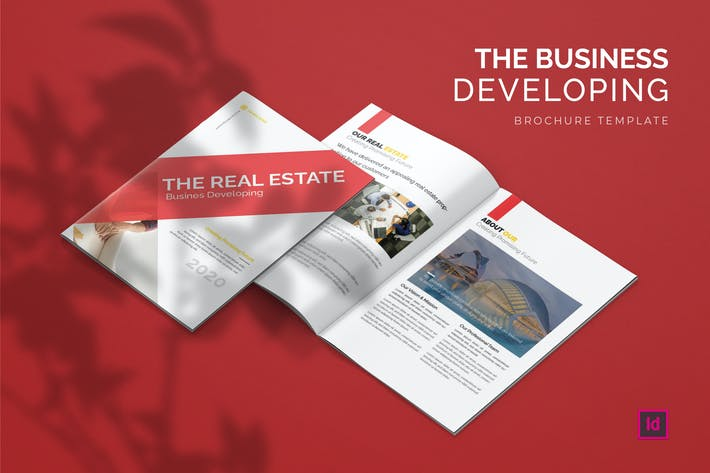Thumbnail for The Business Developing - Brochure Template