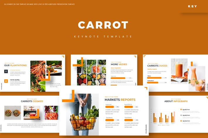Thumbnail for Carrot - Keynote Template