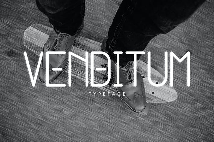 Cover Image For Venditum Typeface