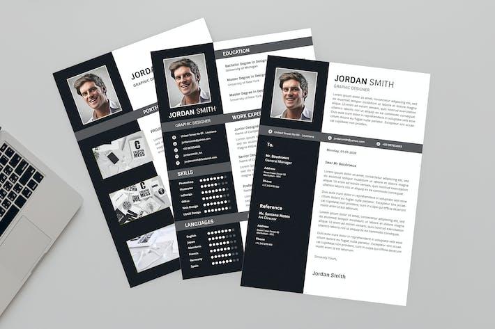Cover Image For Drak Resume Designer