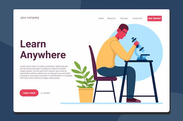 Research - Landing Page