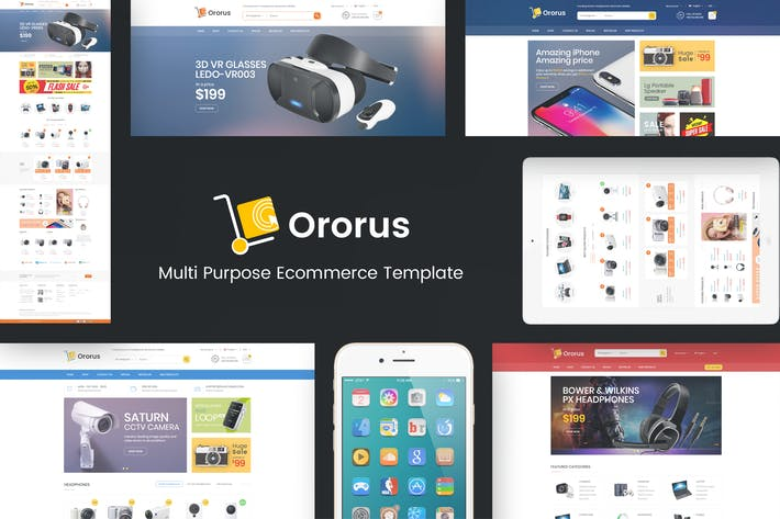 Cover Image For Ororus - Responsive PrestaShop Theme
