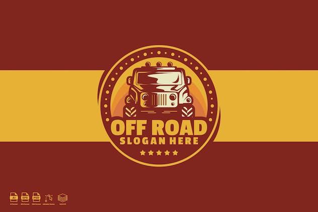 Off Road Adventure Logo Template