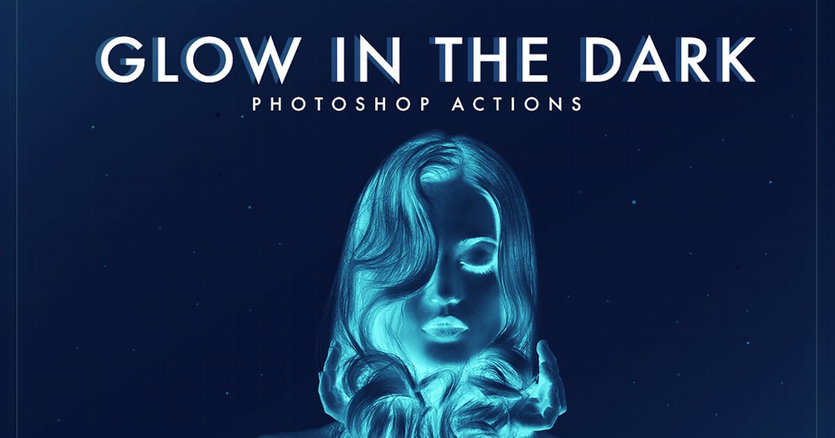 Download Glow in the dark Photoshop Actions by micromove