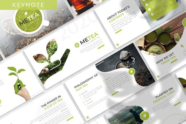 Thumbnail for Metea - Plant Keynote Template