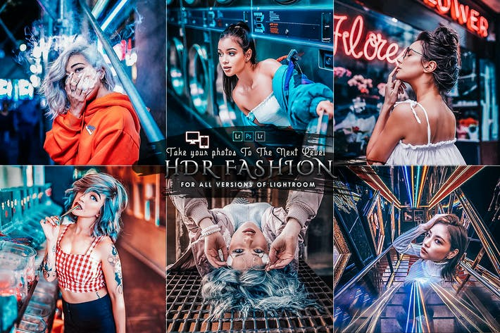 Thumbnail for HDR Fashion presets Mobile and Desktop
