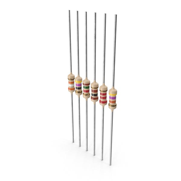 Axial Lead Metal Film Resistors Set