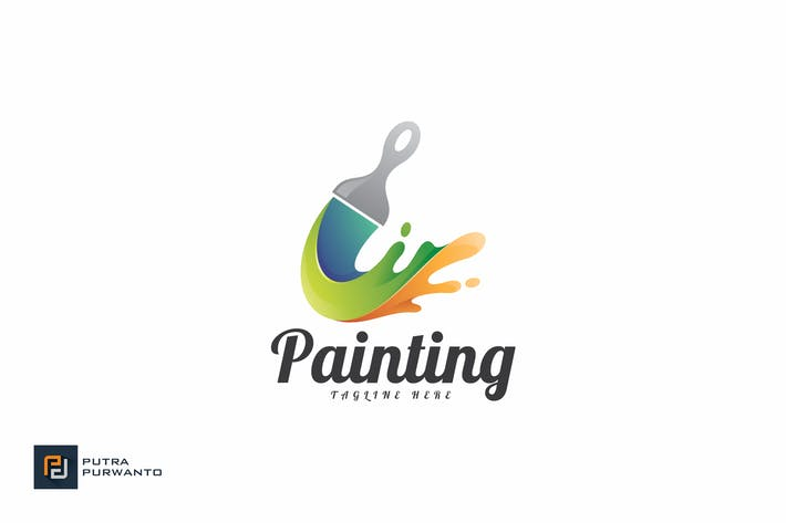 Thumbnail for Painting - Logo Template
