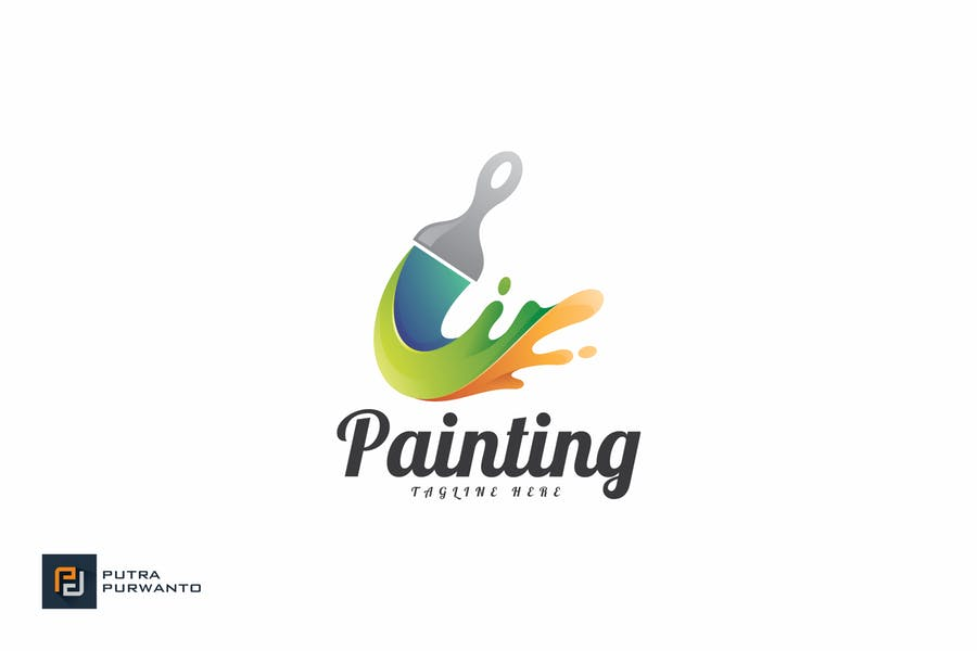 Painting - Logo Template