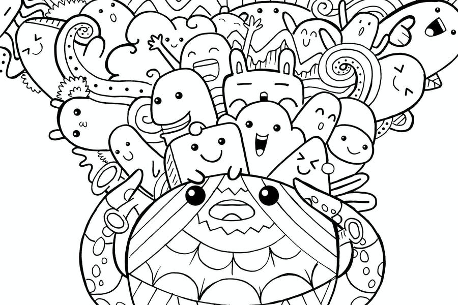 Oktopus Doodle