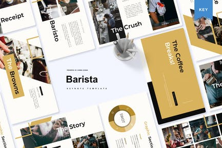 Barista | Шаблон Keynote