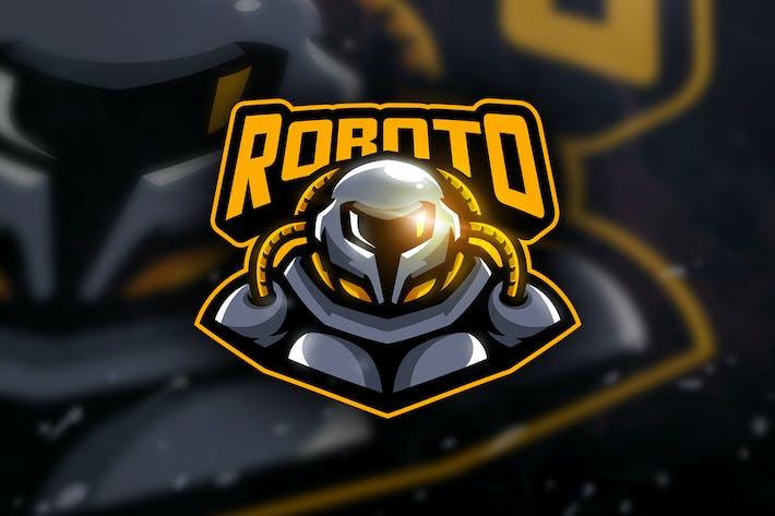 Thumbnail for Roboto -  Mascot & Esport Logo