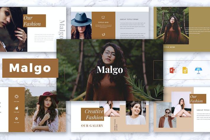 Thumbnail for MALGO - Fashion Powerpoint/Google Slide/Keynote