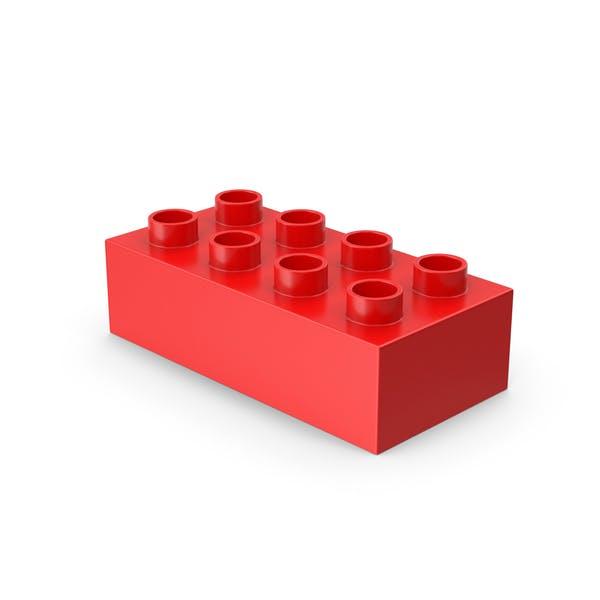 Thumbnail for 2 x 4 Spielzeugziegel