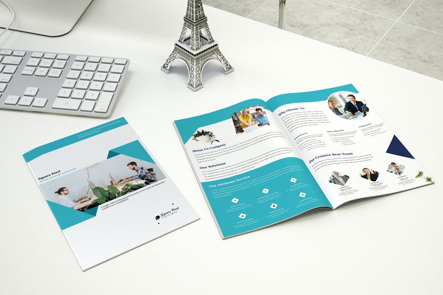 Corporate - Bifold Brochure