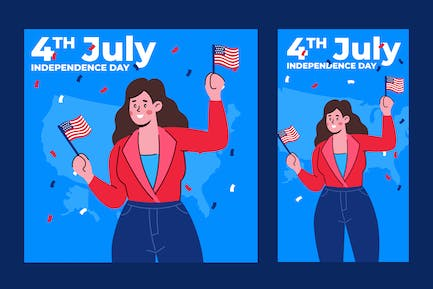 Independence Day Illustration