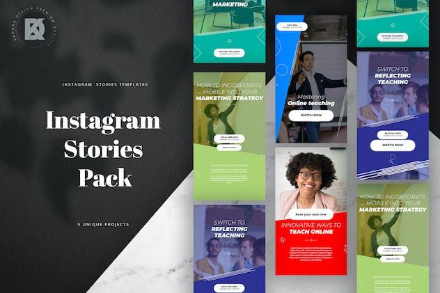 Webinar Instagram Stories Pack