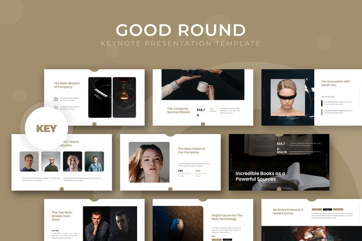 Cover Image For Good Round - Keynote Template