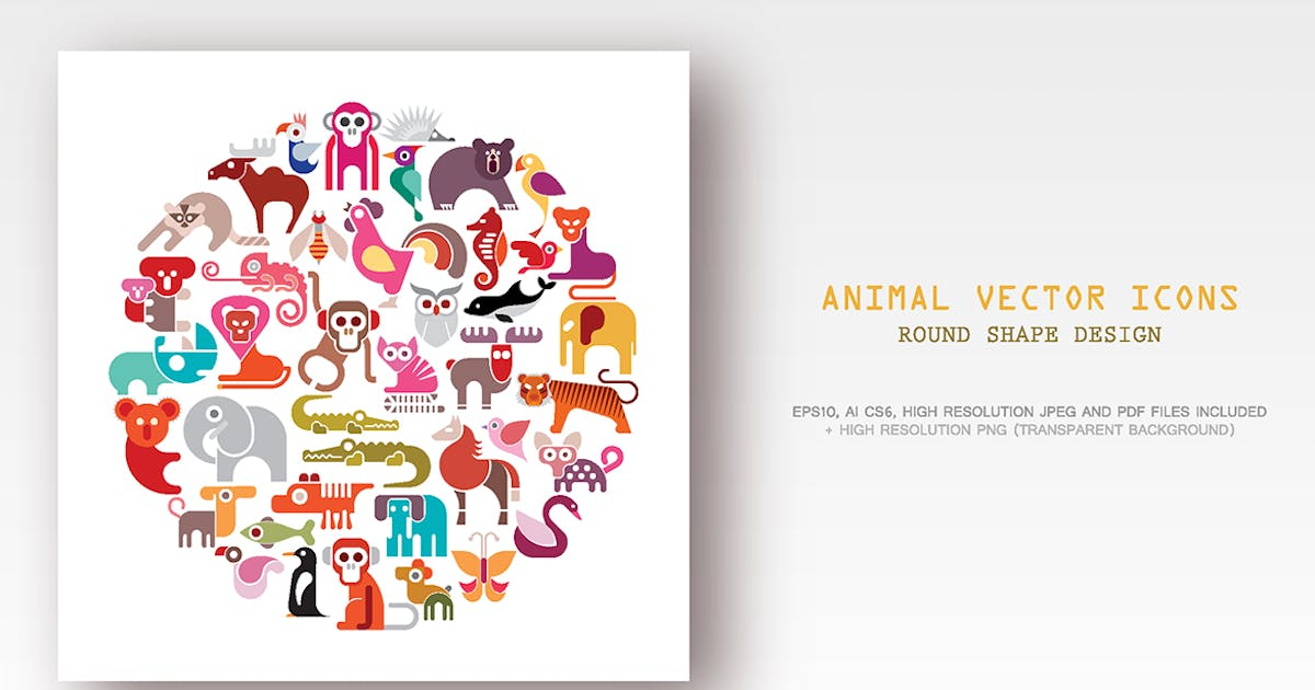 Download Animal vector icon set by danjazzia