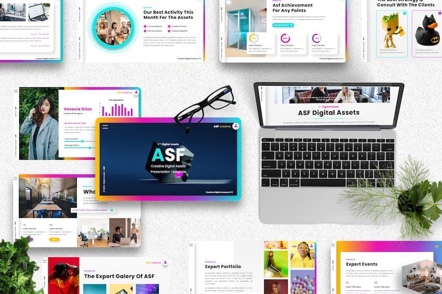 ASF - Creative Digital Assets Powerpoint Template