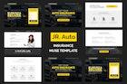 Jr. Auto Insurance Landing Page - Responsive