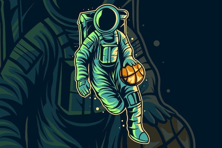 astronaut basket ball