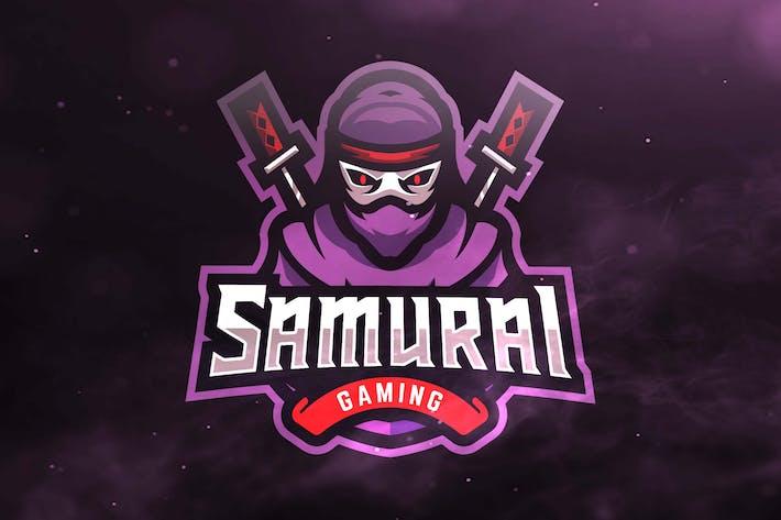 Thumbnail for Samurai Gaming Sport and Esports Logos