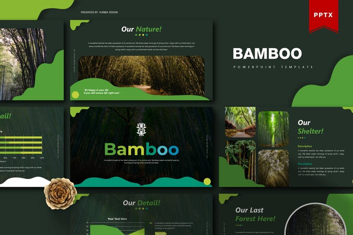 Cover Image For Bamboo | Powerpoint Template