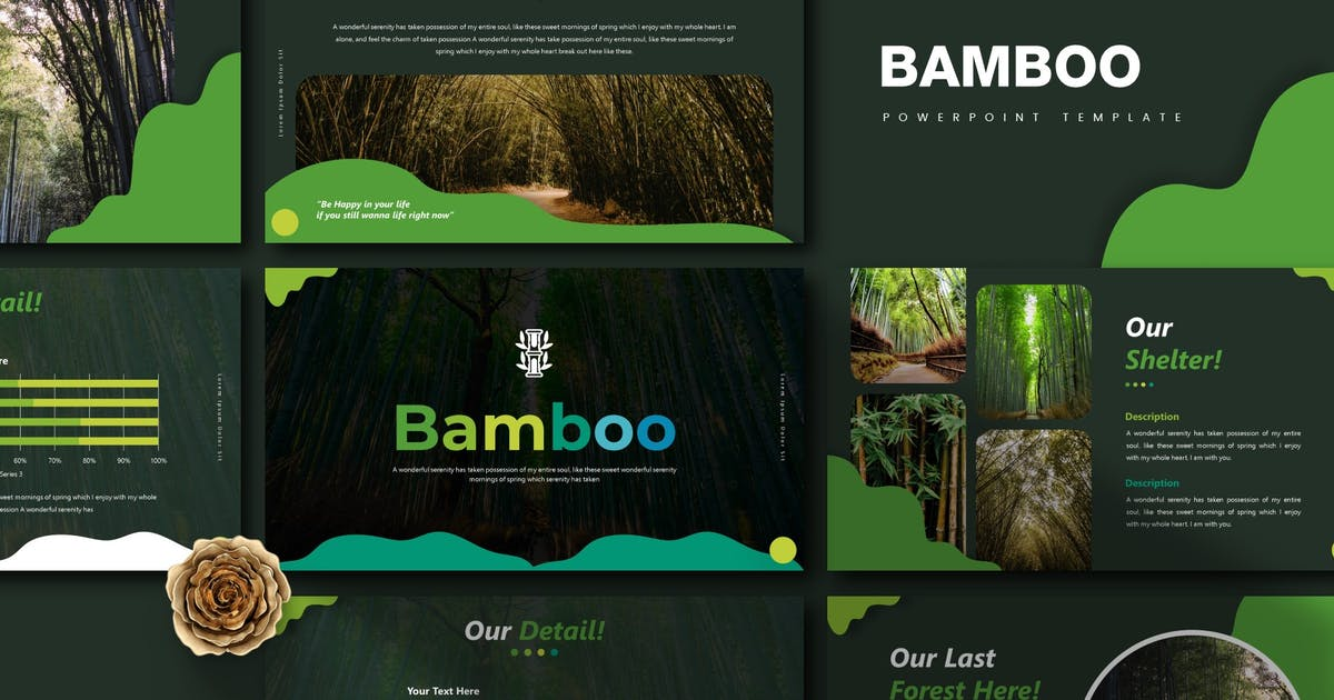 Download Bamboo   Powerpoint Template by Vunira