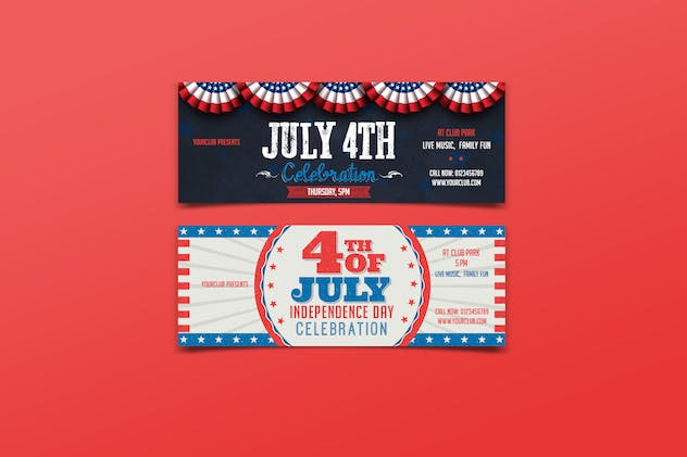 July 4th Facebook Cover