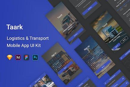 Taark - Logistics & Transport UI Kit