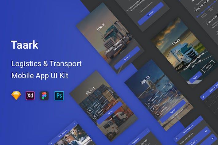 Thumbnail for Taark - Logistics & Transport UI Kit