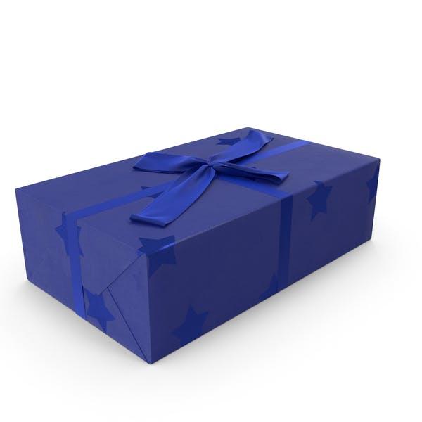 Geschenk Blau