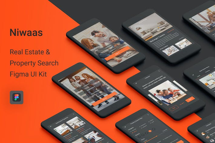 Cover Image For Niwaas - Real Estate & Property Search Figma App