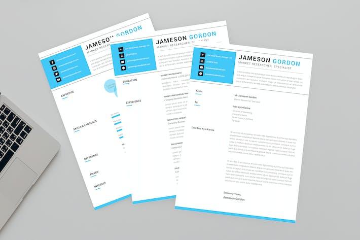 Market Researcher Resume Designer