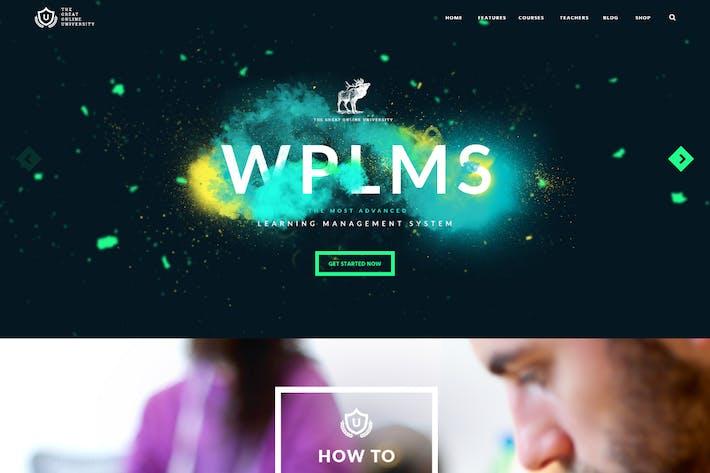 Thumbnail for Online University - Education LMS WordPress Theme