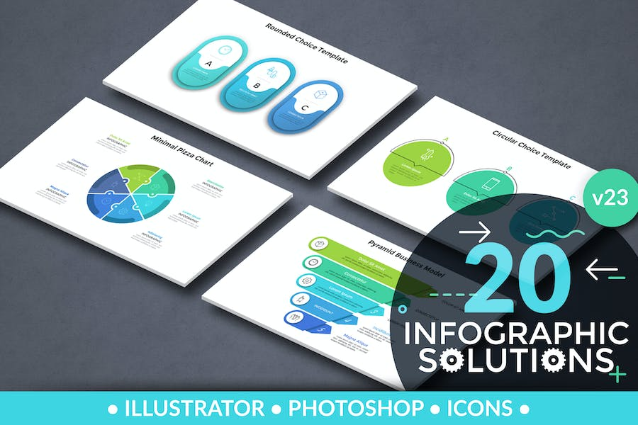 Infographic Solutions. Part 23 - product preview 0