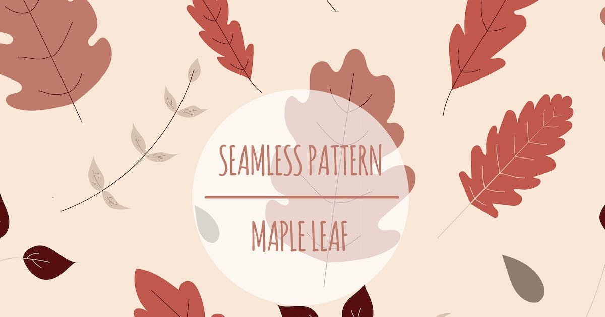 Download Autumn Leaves – Seamless Pattern by designesto