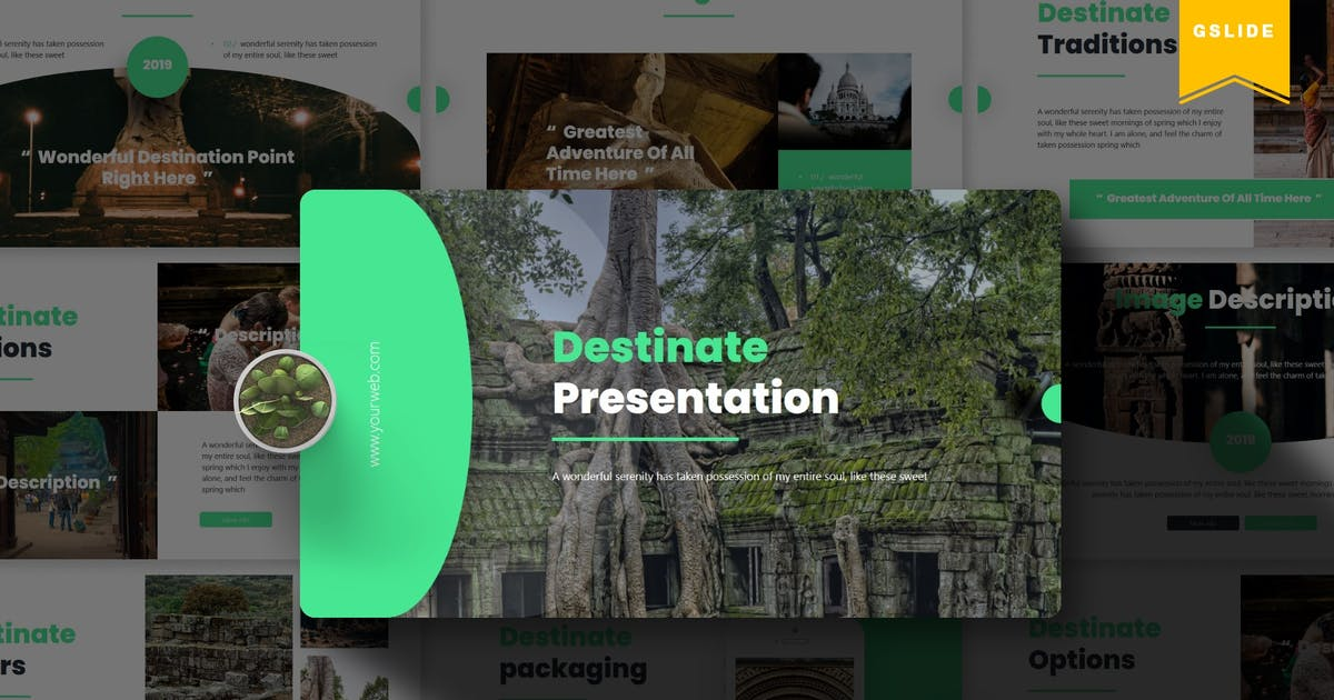 Download Destinate   | Google Slides Template by Vunira