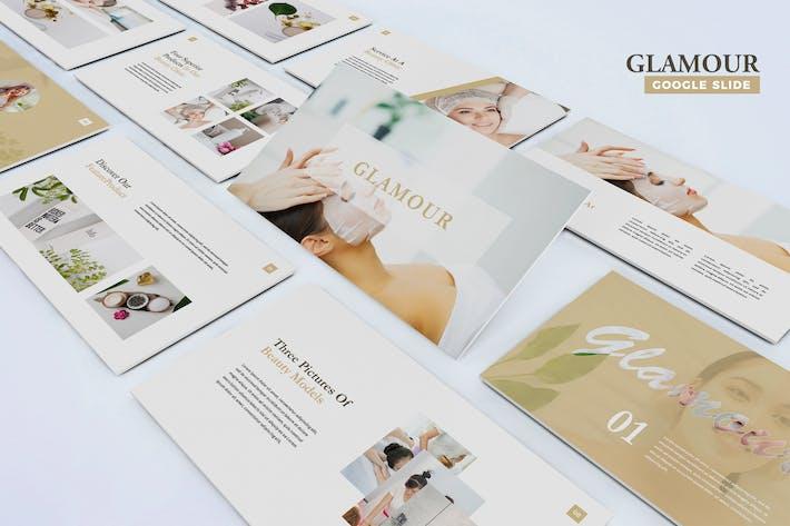 Thumbnail for Glamour - Google Slides Template