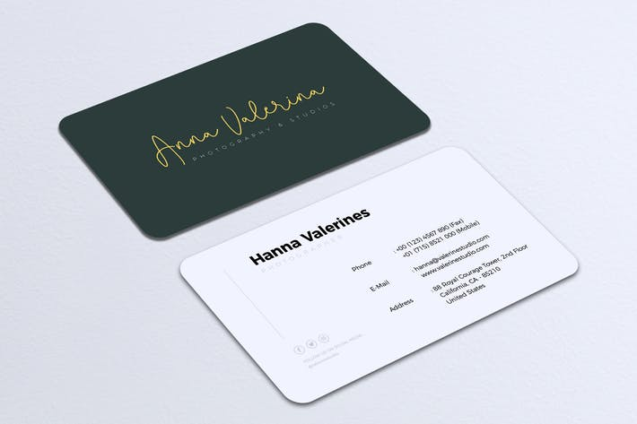 Thumbnail for Minimalist Business Card Vol. 16