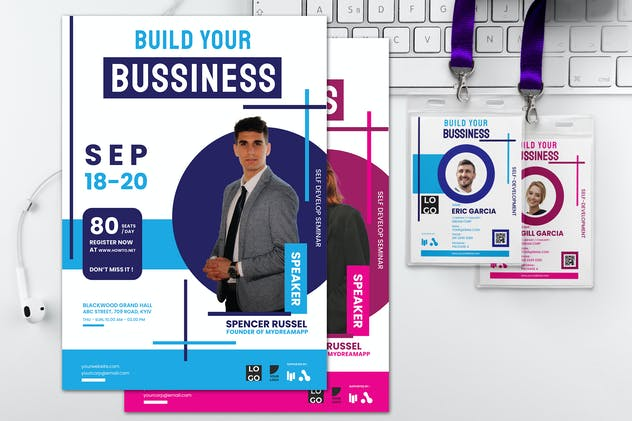Build Your Business - Seminar Invitation