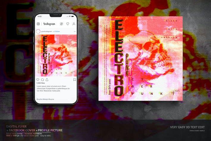 Thumbnail for Social Media Online Music Event Digital Kit