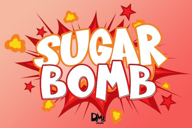SUGAR BOMB - DISPLAY FONT